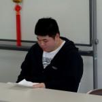 学楽で中国語を学んだA君 上海留学へ