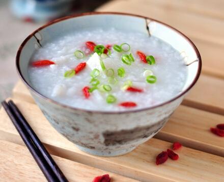クコ山芋粥