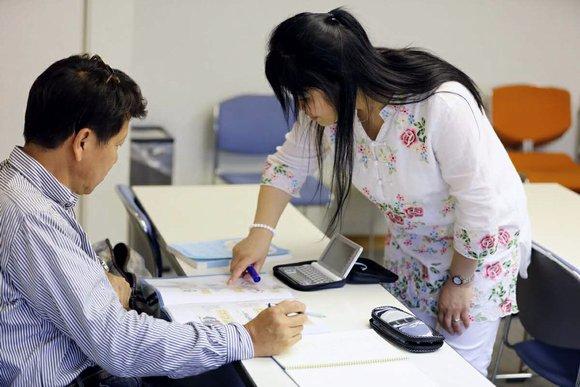 中国語教室学楽 中国語学習中