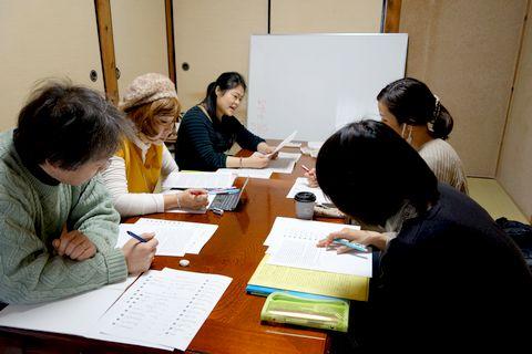 中国語教室学楽 御陵教室上級クラス