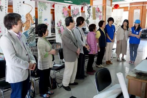 中国語教室学楽 ハルピン文化交流旅行 中国語で自己紹介