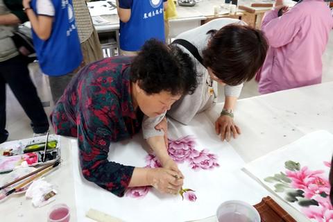 中国語教室学楽 ハルピン文化交流旅行 中国絵画