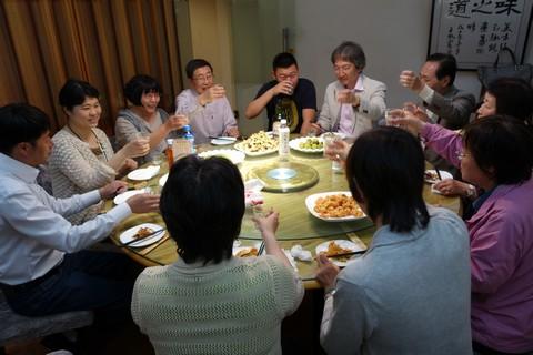 中国語教室学楽 ハルピン文化交流旅行 歓迎食事会