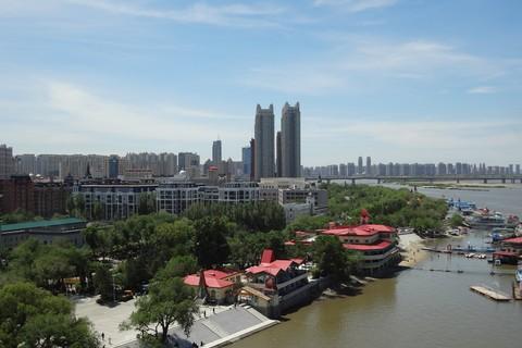 中国語教室学楽 ハルピン文化交流旅行 ハルピン市街