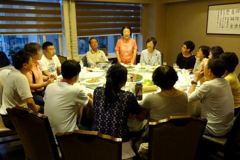 中国語教室学楽 ハルピン文化交流旅行 最後の晩餐