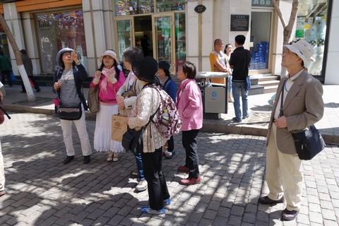 中国語教室学楽 ハルピン文化交流旅行 ハルピン市街観光