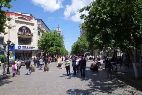 中国語教室学楽 ハルピン文化交流旅行 中央大街